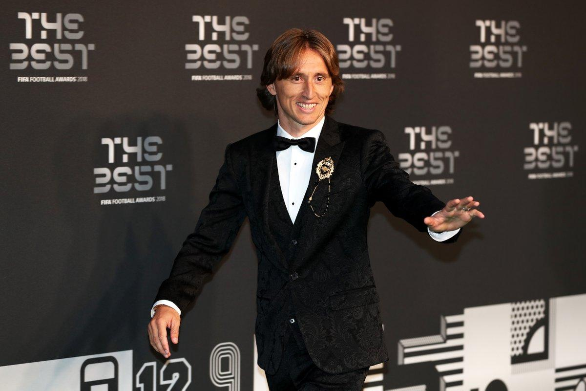 Luka Modric acaba con la hegemonía de Messi y Cristiano — The Best