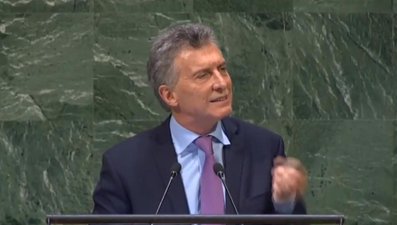Macri ante la ONU: