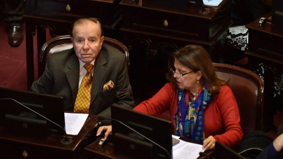 Carlos Menem fue absuelto en la causa de venta ilegal de armas