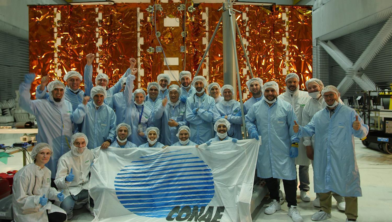 Expectativa por el lanzamiento del satélite Saocom 1A
