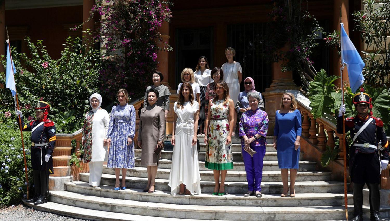 Juliana Awada se reunió con las acompañantes del G20