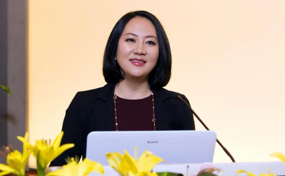 Detienen a directora financiera de Huawei