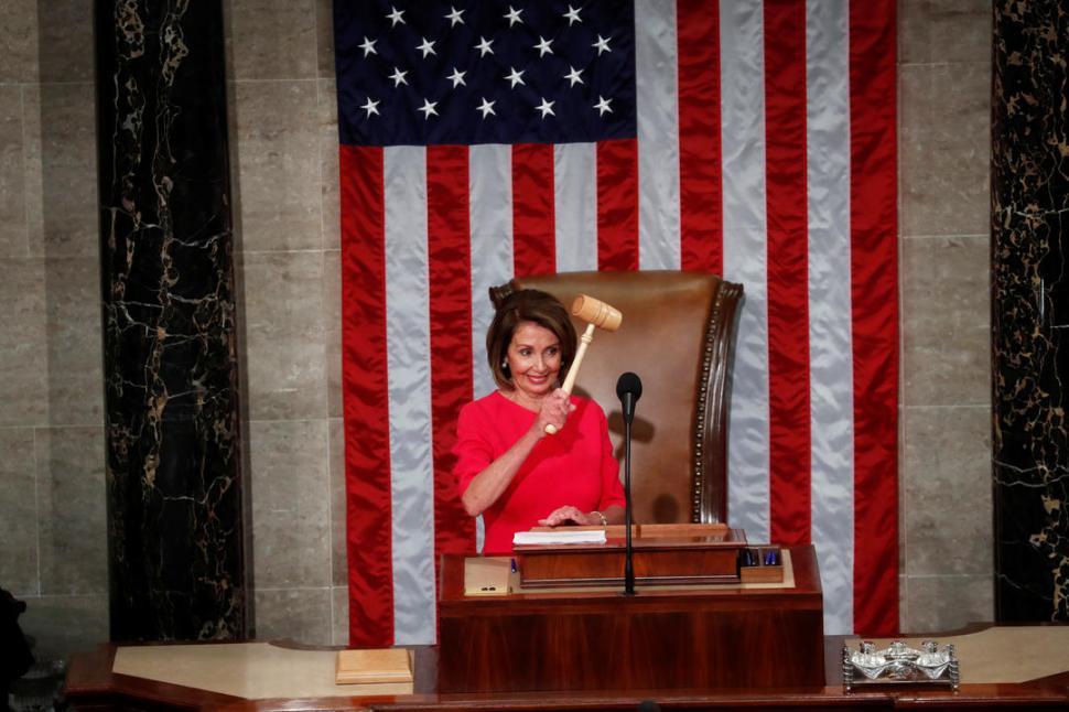 La demócrata Nancy Pelosi, nueva presidenta de la Cámara Baja de EEUU