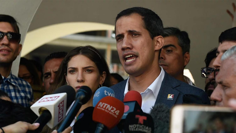 Pidió a la Unión Europea que reconozca a Guaidó - Actualidad