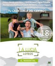 Loteo en El Manantial