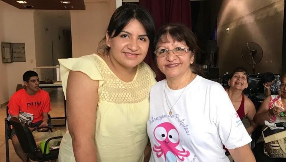 LAURA Y AIDA RUIZ. Las pioneras del pulpito en Tucumán. GENTILEZA DE LA ASOCIACIÓN.-