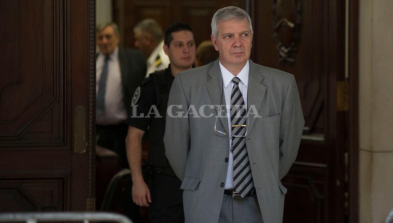 El imputado por encubrimiento y ex Jefe de Policía, Hugo Sánchez. LA GACETA / FOTO DE JORGE OLMOS SGROSSO