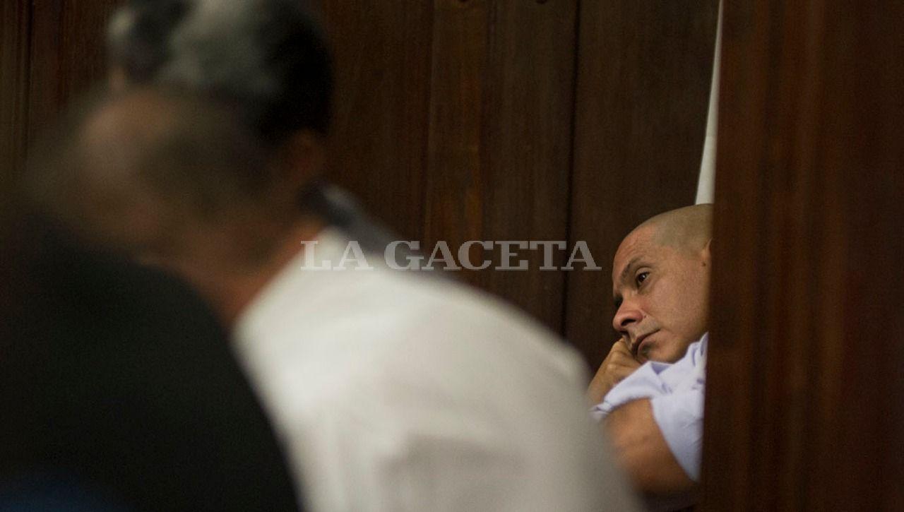 El acusado por la desaparición de Paulina Lebbos, Roberto Luis Gómez. LA GACETA / FOTO DE JORGE OLMOS SGROSSO