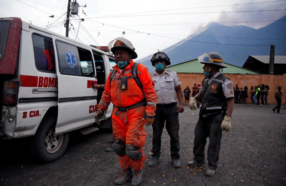 ERUPCIÓN EN GUATEMALA. FOTO DE VIJESTI.ME