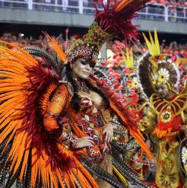 Las mejores fotos del Carnaval en Río de Janeiro