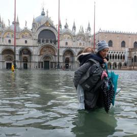 Venecia bajo el agua