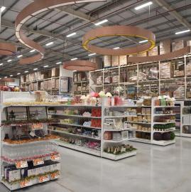 Cómo es por dentro el nuevo Mega centro de compras