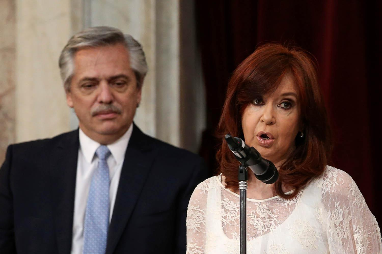 Alberto Fernández tuiteó en la previa del traspaso de mando