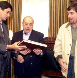 La vez que Juan Carlos Saravia visitó La Gaceta