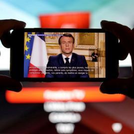 Francia en cuarentena