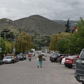 Así está Tafí del Valle, bloqueada para los turistas