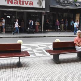 Cómo se comporta la gente frente a la pandemia, en la ciudad