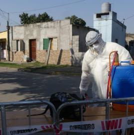Así cercaron el Barrio Municipal de Concepción para evitar la propagación del coronavirus