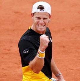 Las mejores imágenes del pase de Schwartzman a semifinales de Roland Garros