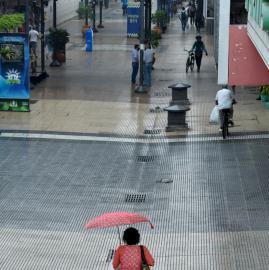 La lluvia regresó después de seis meses