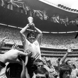 Maradona. Las mejores fotos