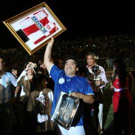 La última vez de Diego Armando Maradona en Tucumán