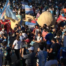 Tucumanos marcharon en contra del proyecto de legalización del aborto