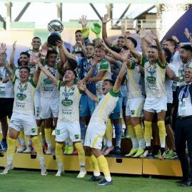 Copa Sudamericana: mirá las mejores fotos del triunfo de Defensa y Justicia ante Lanús