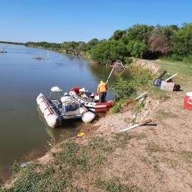 El río Dulce acuna los sueños de emprendedores y pescadores