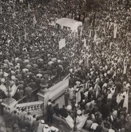 Antiguos festejos en Tucumán por el día del trabajador.