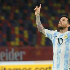 Las 10 mejores fotos de Messi y la Selección en Santiago del Estero