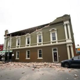 Las imágenes del temblor en Melbourne Victoria, Australia