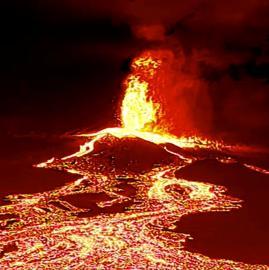 Las impactantes imágenes del volcán en erupción en Islas Canarias, España