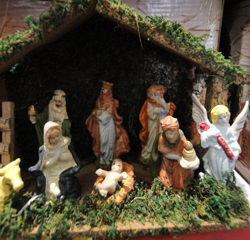 e9971b9eae98b El pesebre evoca la llegada al mundo del Niño Dios en un establo de Belén.  LA GACETA   INES QUINTEROS ORIO