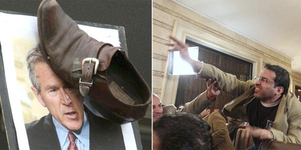 El que periodista que El lanzó los zapatos a Bush, libre LA GACETA Tucumán 9714ca