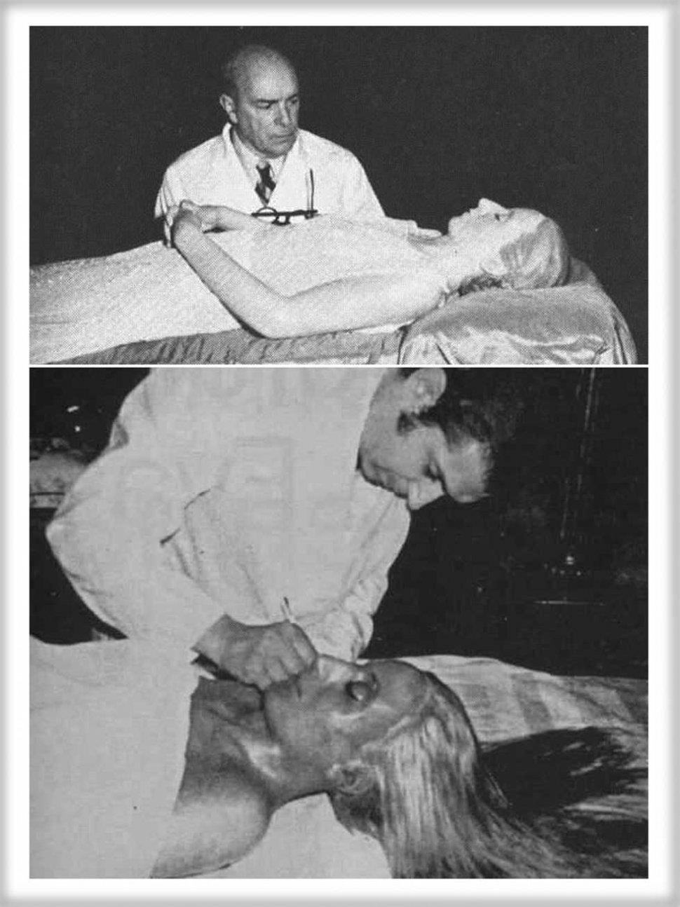 Resultado de imagen para el cuerpo de eva peron