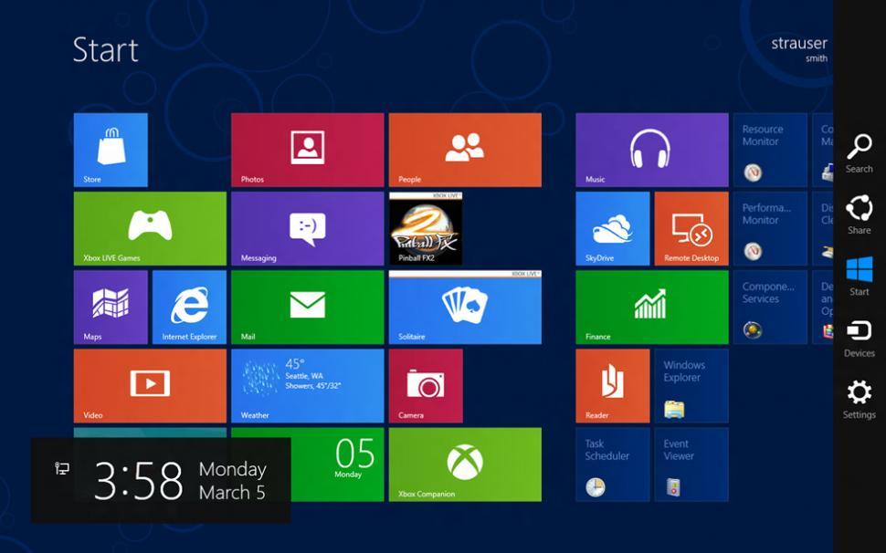 As ser tu escritorio cuando llegue windows 8 la gaceta - El tiempo en tu escritorio ...