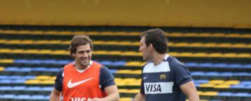 La última práctica de Los Pumas, en fotos