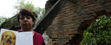 La casera de las ruinas de Lules custodia    un tesoro: las cartas que le mandó Francisco