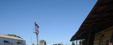 La estación de Alberdi subsiste casi sin rieles