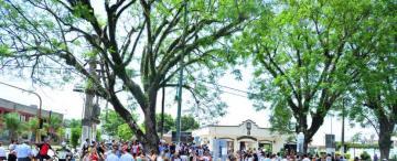 Ciclistas y vecinos marcharon para pedir más seguridad en la Ciudad Jardín
