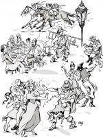 En 1816 comían charqui, usaban peinetón y bailaban el