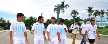Argentina inicia con Israel la serie permanencia en el Grupo Mundial