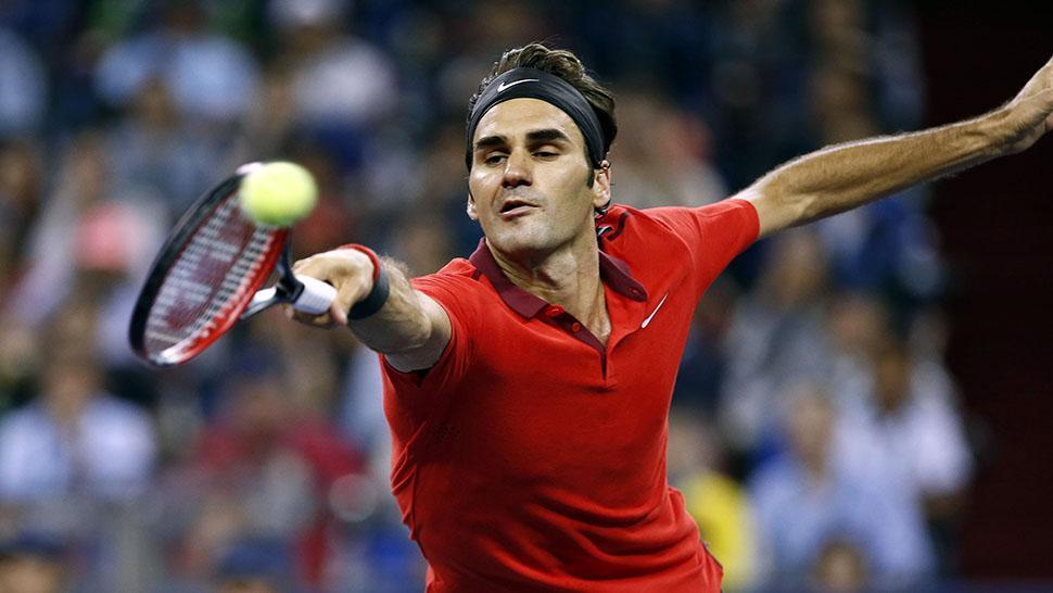 CRACK. Federer parece haber rejuvenecido. Ya es 2 del mundo. REUTERS.