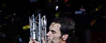Federer dio otra muestra de su llama inextinguible