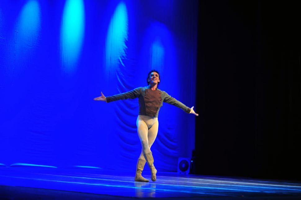 EN LA COCHA. Maximiliano Guerra actuará con el Ballet del Mercosur. la gaceta / foto de diego aráoz (archivo)