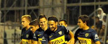Boca jugó mal, empató 1-1 con San Martín en San Juan y no pudo ser puntero