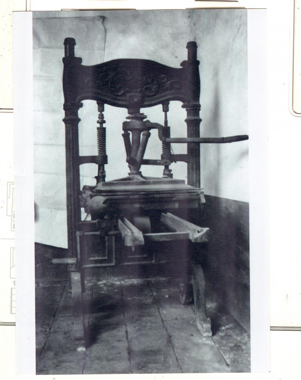 Image result for FOTOS DE IMPRENTAS DE 1820