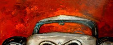La imagen de un viejo auto puede tocar las cuerdas sensibles del espíritu