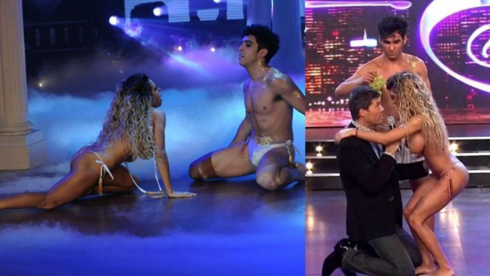 instagram bailarines desnudo en Marbella